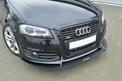 Racing Cup Spoilerlippe Front Ansatz Diffusor AUDI S3 A3 8P FACELIFT