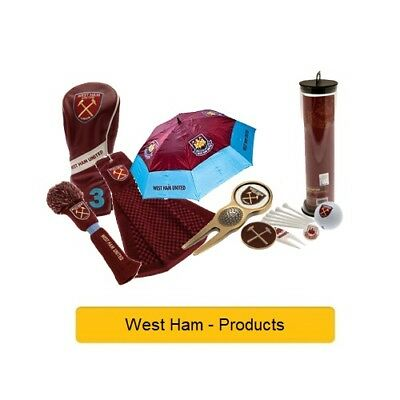 WEST HAM FC- GOLF PRODUCTS - Official Football Merchandise (Gift, Xmas,Birthday)