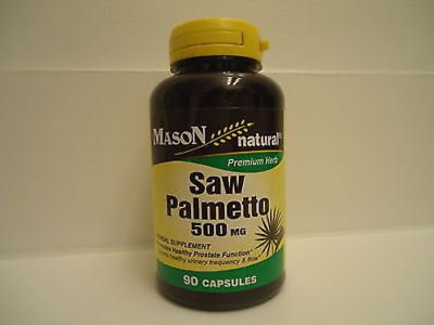 90 CAPSULES 100 % SAW PALMETTO PROSTATE HEALT MALE SUPPORT 500 mg 90 day supply