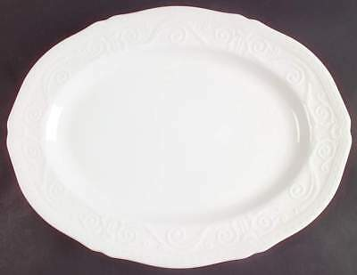 """Wedgwood TRADITIONS 15 3/4"""" Oval Serving Platter 2157455"""