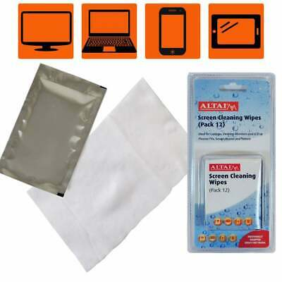 20 x Screen Cleaning Wet Wipes iPhone iPad Samsung Tablet TV Laptop Screen Phone