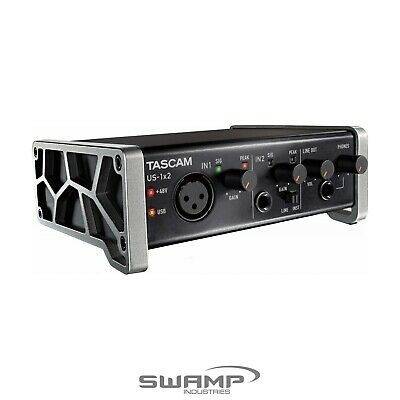 TASCAM US-1X2 1-in 2-out Audio Interface for Mac, Windows and iOS iPad USB 2.0