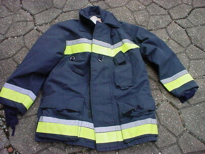 Bristol New Old Stock Turnout Coat Fireman Firefighter Fire Dept 42