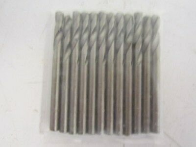 Lot Of 12 GUHRING Parabolic HSS #22 Wire Size Screw Machine Drill Bits New