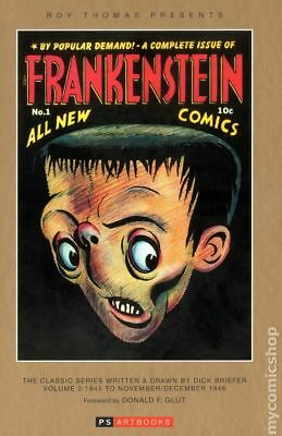 Roy Thomas Presents: Frankenstein HC By Dick Briefer #3-1ST 2013 NM