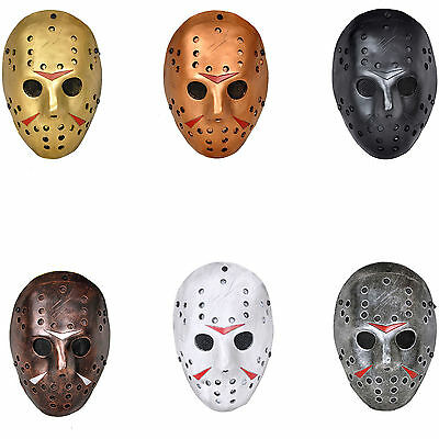 Multi-color Paintball Airsoft The 13th Friday Killer Jason Hockey Full Face Mask