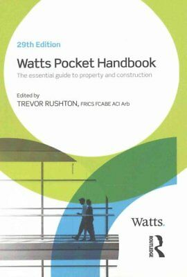 Watts Pocket Handbook by Trevor Rushton 9781138665958 (Paperback, 2016)