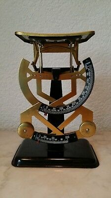 alte Waage Briefwaage bilateral 500g Messing old scale for letters pèse-lettre