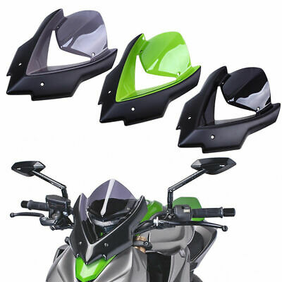 1 Pcs Motorcycle Front Wind Screen Shield Windproof for Kawasaki Z1000 2015-2016
