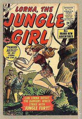 Lorna the Jungle Queen #20 1956 GD/VG 3.0