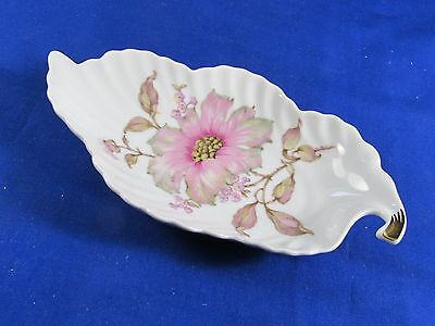 Mitterteich Bavria Germany 7945-042 Dish in Shape of a Leaf Tray-Porcelain Bowl