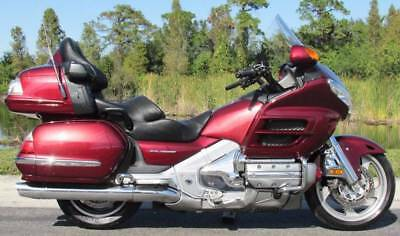 2009 Honda Gold Wing  2009 HONDA GOLD WING LOADED ~ LOW MILES ~ CUSTOM CHROME ~ EXCELLENT CONDITION