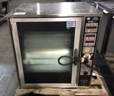 Henny Penny Scr-6 Sure Chef Commercial Rotisserie Oven, Therma Vec Heat System