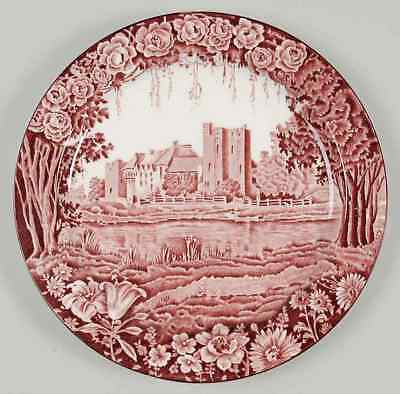Wood & Sons CASTLES RED Dinner Plate 773460