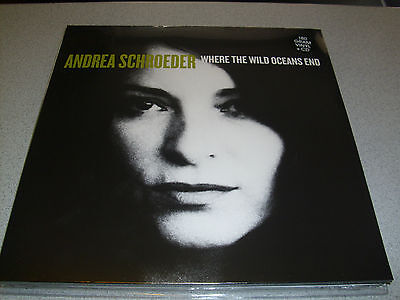 Andrea Schroeder - Where The Wild Oceans End - LP 180g Vinyl // incl. CD // Neu