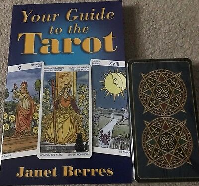 Tarot Kit for Beginners by Janet Berres (2012, Book & Deck Kit) NO BOX