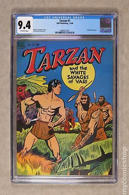 Tarzan (Dell/Gold Key) #1 1948 CGC 9.4 0808321001