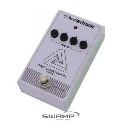 TC Electronic 3rd Dimension Chorus Guitar Vintage Analog Effects Pedal