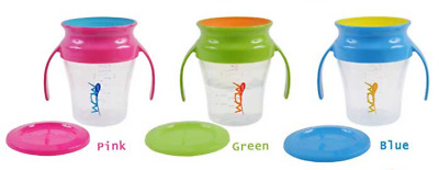 Wow Baby 360 Cup 3 Different Colours
