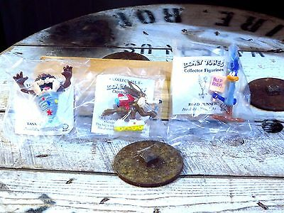 VINTAGE Looney Tunes Figures Shell Oil 1990 Complete Set of 8 Mint Unopened