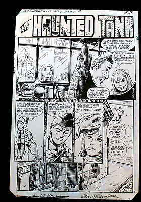GI Combat Issue #253 Page #38 Sam Glanzman Pencils and Inks Signed