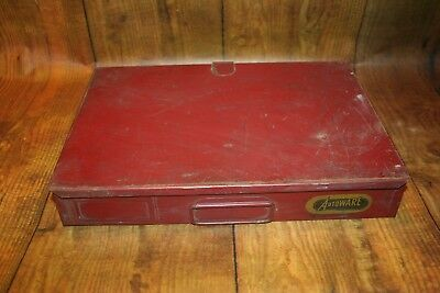 Vintage Autoware Metal Drawer - Industrial Age Cabinet - Nuts Bolts Hardware Bin