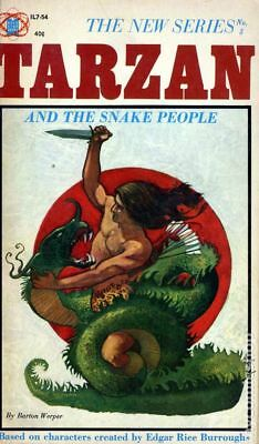 Tarzan and the Snake People PB (Gold Star Books) #1-1ST 1964 VG