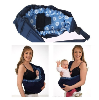 Newborn Baby Sling Carrier Ring Wrap Adjustable Mom Nursing Pouch