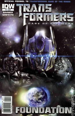 Transformers Dark of the Moon Foundation (IDW) #4A 2011 FN Stock Image