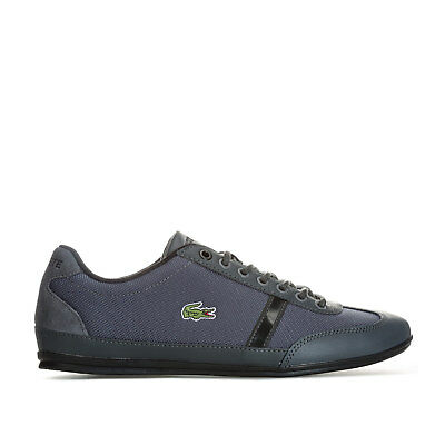 Mens Lacoste Misano Sport 317 Trainers In Grey Black From Get The Label