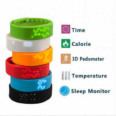 New Children Fashion Style Activity Tracker - Kid Pedometer Step Counter Fitness