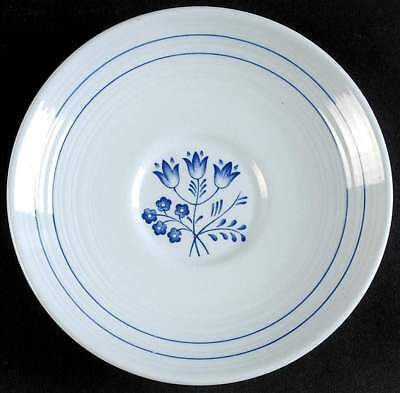 Booths CANTERBURY-BLUE (FLORAL CENTER) Cream Soup Saucer 37951