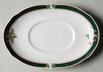 Noritake HOME FOR CHRISTMAS Underplate For Gravy Boat 1043458