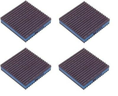 4 PACK Anti Vibration Pads Dampener 2x2x7/8 Diversitech MP-2E Speakers Isolation