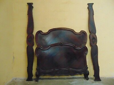 French Antique SINGLE OR CHILDS BED  C1890 Louis XV Style