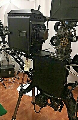 Powers Camergraph #6 full kit 35mm Hand Crank Film Projector Museum Quality!