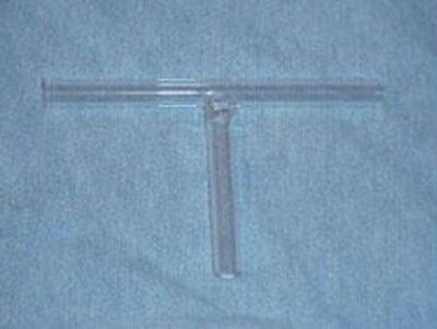 Glass Connecting Tube ,T Shape Connector, 1/2 inch