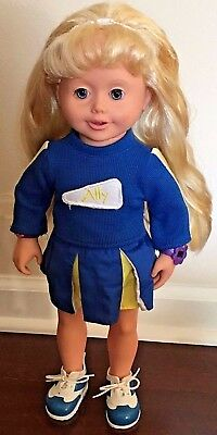 Amazing Ally With Accessories-Works- Interactive Talking Doll Cheerleader Outfit