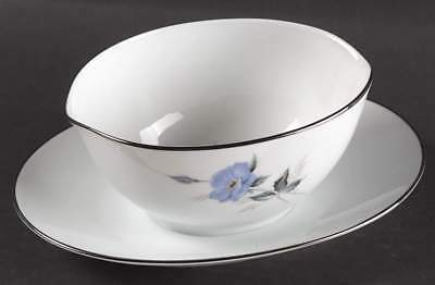 Noritake SYLVIA Gravy Boat & Attached Underplate 469120