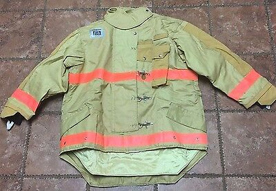 NEW! Morning Pride By Honeywell Firefighter First Responder Turnout Coat 48