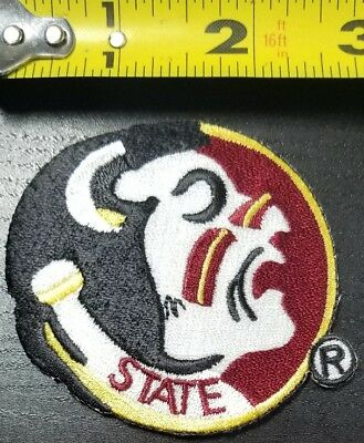 "Florida State Seminoles FSU~NCAA 2.75"" Iron/Sew On Patch~FREE SHIPPING FROM U.S."