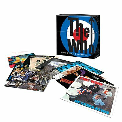 The  Who  -  The  Studio  Albums     Limited  Edition  Box Set