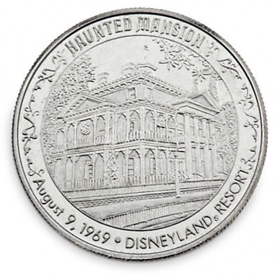 Disneyland/Disney World Haunted Mansion Collectible Silver Coin, NEW