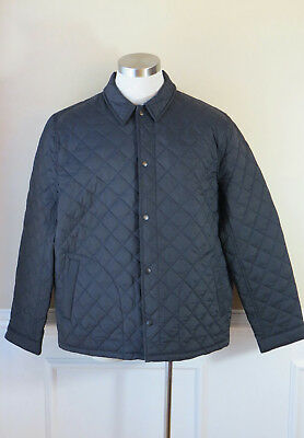 JCrew Mens Quilted Primaloft Coach's Jacket Outerwear F4514 $148 Dark Navy M