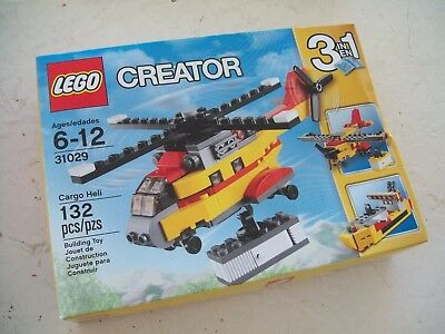 Lego Creator 3 in1 31029 Cargo Helicopter Brand New