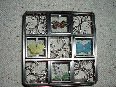 Partylite Beautiful Butterfly Tealight Easel Candle Holder