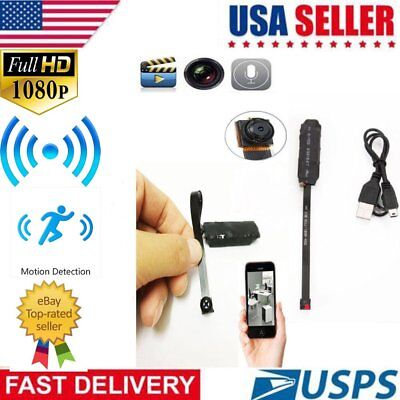 Mini HD Spy Hidden Camera DIY Module DV Nanny Cam Micro Video Recorder For IOS
