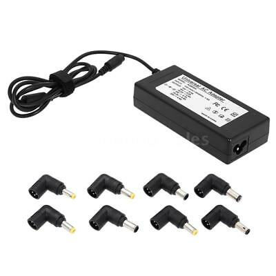 Universal Laptop AC Adapter Charger/Power Supply Cord USB/8tips 15V-19.5V U7Q7