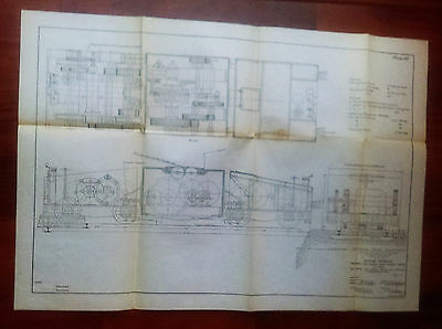1910 Panama Canal Engineering Diagram Proposed Electric Locomotive Towing Ships