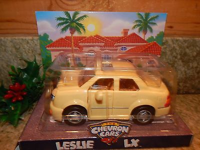 VINTAGE 1998 THE CHEVRON GAS OIL CARS LESLIE LX CAR New in Box